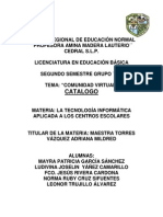 Catalogo de Plataformas educativas
