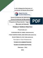 Proyecto Jugo Tuna