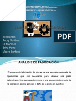 Diapositiva de Analisis de Fabricacion
