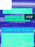 14.-La Gestión Del Profesor