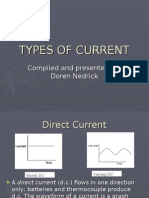7. Types of Current
