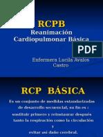 RCPB (Respiración Cardio Pulmonar Básico)