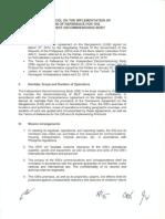 Second Protocol on TOR of IDB