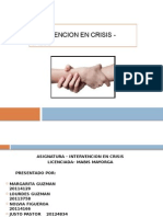 Intervencion en Crisis Protocolo