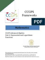 ccgps math 9-12 advancedalgebra unit4