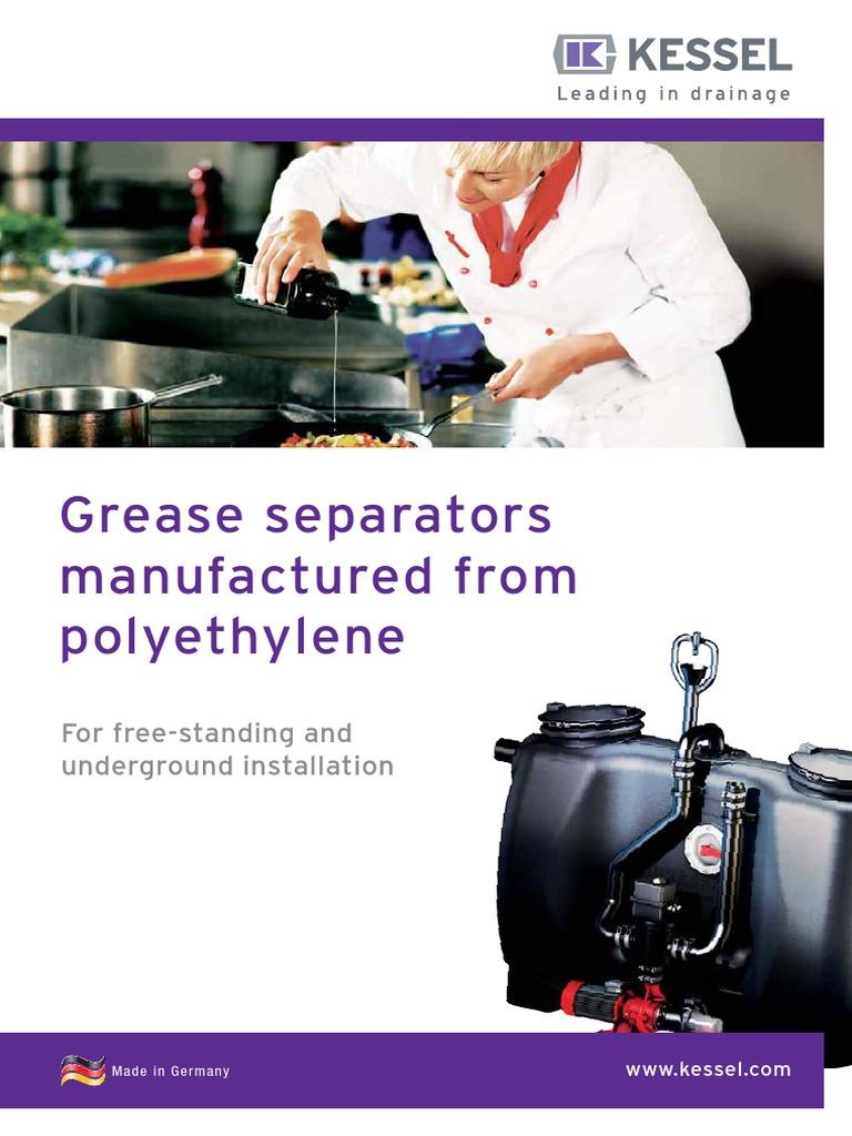 KESSEL 010 382 Grease Separators | Sewage Treatment | Petroleum