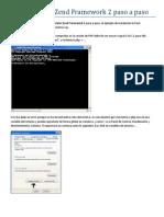 Como Instalar Zend Framework 2 Paso a Paso
