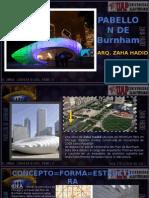 Deconstructivismo PabellonDeBurnham Arq.zahaHadid Alumna.carreraRojas,Pamela