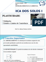 AULA 04- Plasticidade e Limites de Consistência