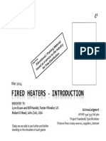 Fired Heaters - Introduction