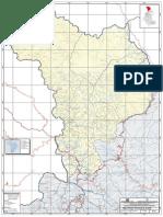 Mapa Politico de Huanta