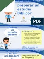 Como hacer estudios biblicos