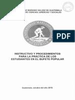 Instructivo Practica Estudiantes Bufete Popular