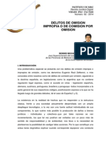 Dennis Michael Vega Sotelo - Delitos de Omision Impropia