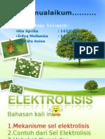 kimia elektrolisis Ppt Template 004