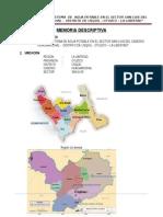 1. Memoria Descriptiva Sector San Luis Huacamochal