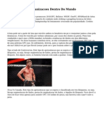 Top 5 de MMA Organizacoes Dentro Do Mundo