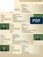 Student Profiling MBA