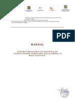 Manual CT_suport de Curs-CONFECTIONER TAMPLARIE DIN ALUMINIU SI MASE PLASTICE