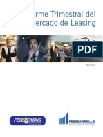 Informe Abril 2014 fedeleasing