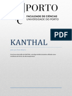 KANTHAL - Monografia (School Work)