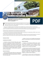 National College of Public Administration and Governance