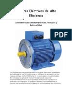 Motores Eléctricos de Alta Eficiencia