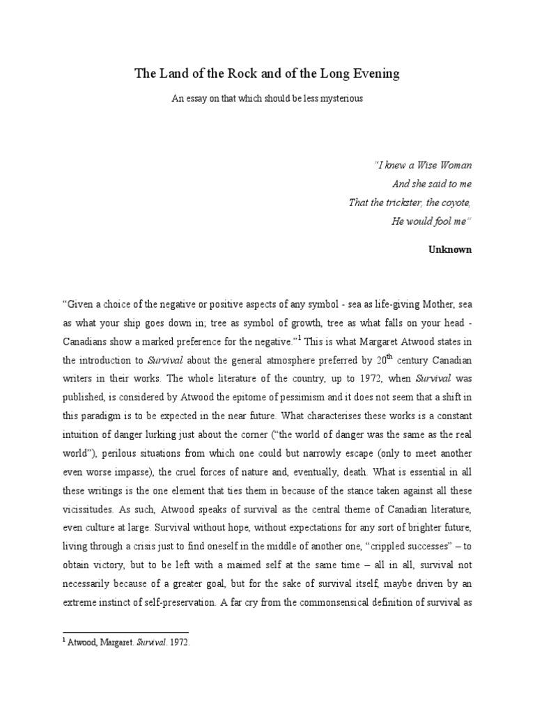 Epic essay