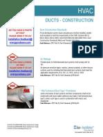 HVAC Ducts Installation