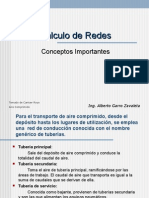 Cálculo de Redes Aire Comprimido- Intro