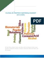3D Printing Materials Market (2014-2020)