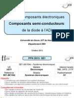 SE1 - CMs Composants - De La Diode à l'ADI