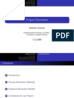 Presentgfhfghation Project Estimation