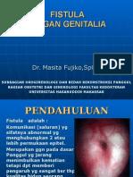 Bahan Kuliah Fistula Organ Genitalia