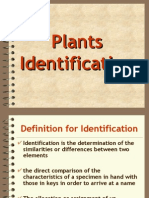 Bahan Kuliah v (Plant Indentification)