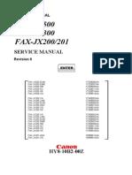 Canon JX 500_200 - Service Manual