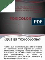 Presentación Toxicologia