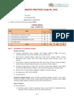 2016 Syllabus 11 Informatics Practices
