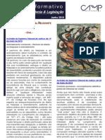Newsletter Intercalar da CAMMP de Junho de 2015