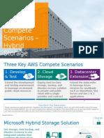 AWS Compete Scenarios - Hybrid Storage