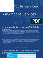Azure Mobile Services Battlecard