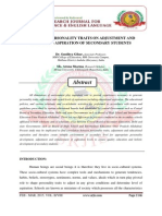 IMPACT OF PERSONALITY TRAITS ON ADJUSTMENT AND EDUCATION ASPIRATION OF SECONDARY STUDENTS