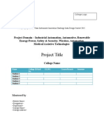Tiic Project Proposal Template