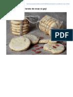 Biscuiti Digestivi Cu Tarate de Ovaz Si Goji