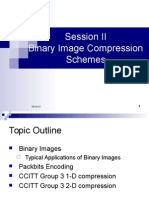 Binary Image Compression Schemes