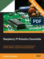 Raspberry Pi Robotics Essentials - Sample Chapter