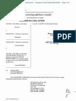 Silvers v. Google, Inc. - Document No. 8