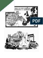 Ciudades de Castilla y León..Dot