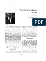 The Maritime History of Goa
