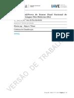 Português - PLNM - 94-839 - 2015 - 1.ª Fase - Critérios de Classificação
